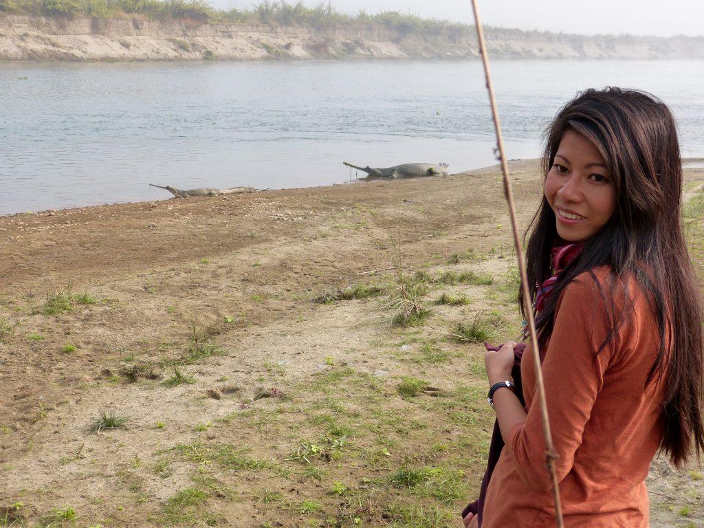 Hiking Chitwan national park nepal familyearthtrek