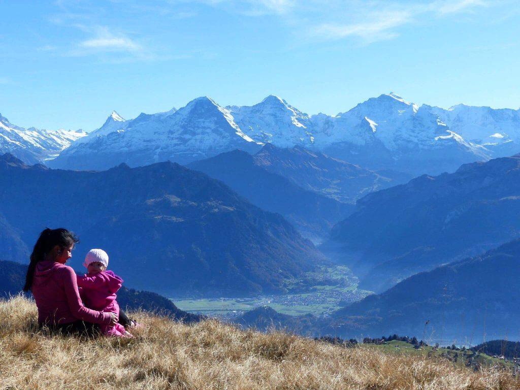 Hiking Niederhorn Switzerland