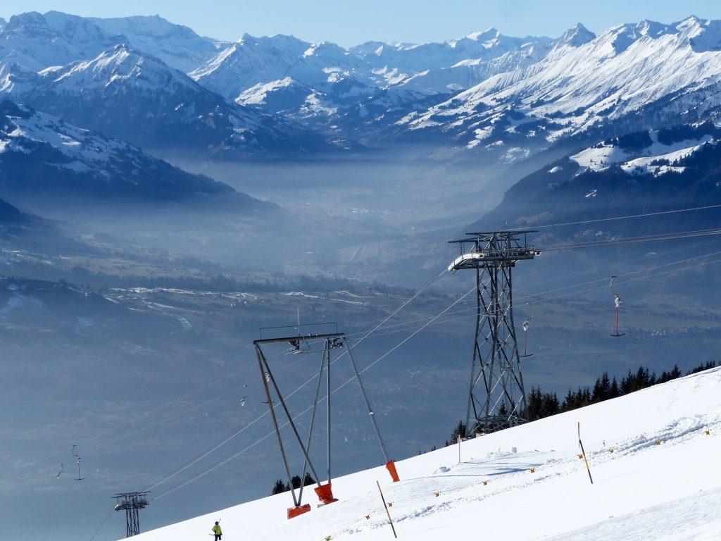 Niederhorn Switzerland Winter hike