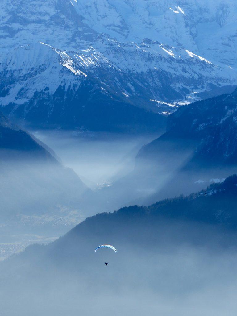 Paragliding Niederhorn Switzerland